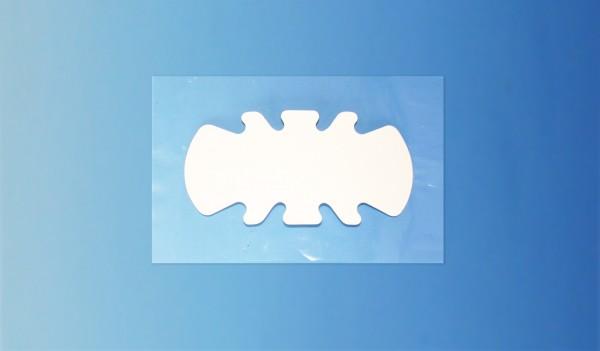 FLEXASOFT® Ultraschall-Abdeckung CONVEX (31900) mit Haftfolie